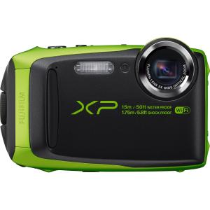 Fujifilm FinePix XP90 16.4 Megapixel Compact Digital Camera - Black\/Lime