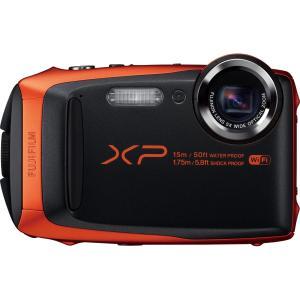 Fujifilm FinePix XP90 16.4 Megapixel Compact Digital Camera - Orange