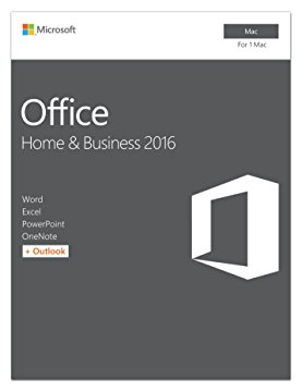 Microsoft Office Home and Business 2016 for Mac P2 (Medialess)