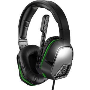 Image of Afterglow LVL 3 Wired Stereo Headset for Xbox One - Black, Green