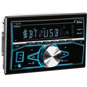 Click here for Boss Audio 850BRGB Double-DIN CD/MP3 Player Blueto... prices