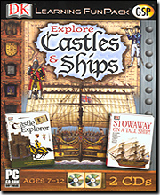 Explore Castles & Ships Learning Fun Pack