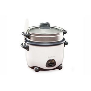 Click here for Westbend 88011 12-Cup Rice Cooker/Steamer - White prices