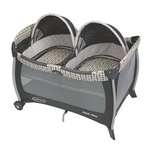 Click here for Graco Pack N Play Playard with Twins Bassinet - Va... prices