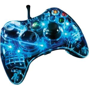 Image of AfterGlow Blue Light Wired Controller for Xbox 360