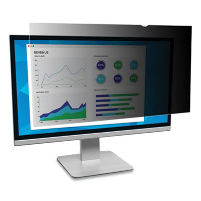 "Image of 3M 19.5W Monitor Privacy Filter for Dell (16:10) Black - For 19.5""Monitor"