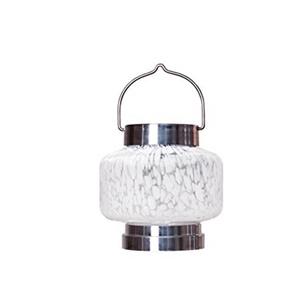 Image of Allsop Home & Garden 30675 Solar Boaters Lantern - White Square