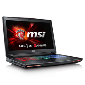 MSI GT72 Dominator Pro 17.3 Gaming Laptop w\/ 16GB RAM & 128GB SSD +1TB