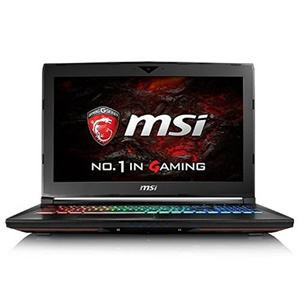 MSI GT62 Dominator 15.6 Gaming Laptop - Intel i7, 16GB RAM, 128GB SSD & 1TB HDD