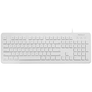 Click here for Macally 104 Key Wired USB Keyboard for Mac and PC prices