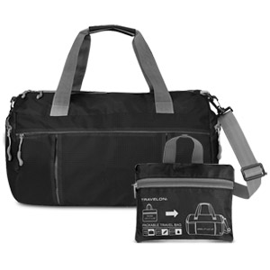Travelon Featherweight Packable Travel Bag, Black