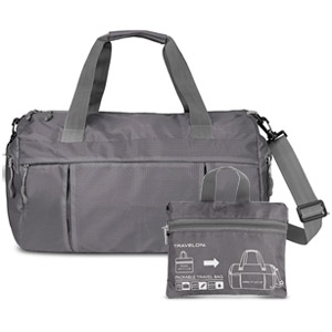 Travelon Featherweight Packable Travel Bag, Gray
