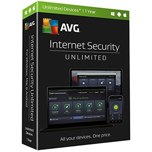 Image of AVG Internet Security Unlimited - 1 Year License