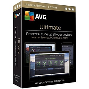 Image of AVG Ultimate Unlimited - 2 Year License