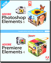 Adobe Photoshop Elements 6 & Adobe Premiere Elements 4