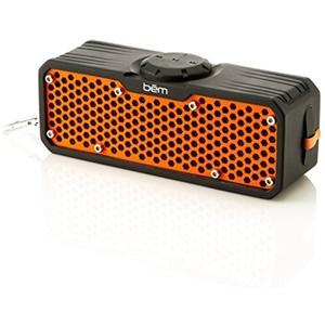 Image of Bem EXO400 Bluetooth Speaker Stereo - Black/Orange