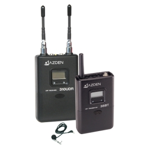 Image of Azden 310LT UHF Diversity Wireless Microphone System