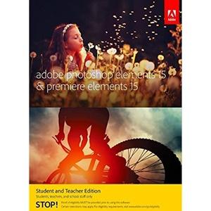 Image of Adobe Photoshop Elements & Premiere Elements v.15.0 (Student & Teacher Edition)