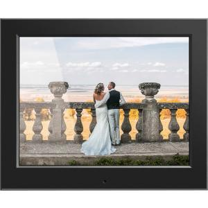 Image of Aluratek - ASDPF08F - Aluratek 8 Slim Digital Photo Frame with Auto Slideshow Feature - 8 LCD Digital Frame - Black -
