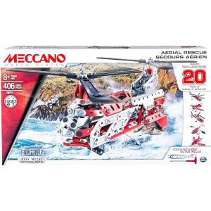 Spin Master Meccano Aerial Rescue 20-Model Set