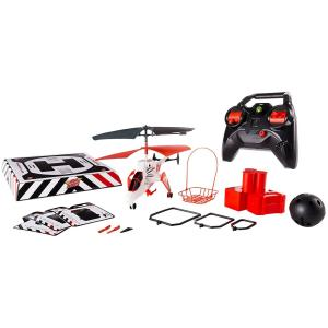 Image of Spin Master Air Hogs, Mission Alpha Ultimate Mission RC Helicopter - White