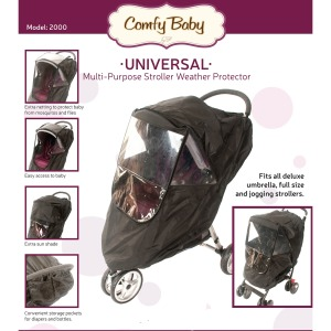 Image of Comfy Baby Universal Multi-Purpose Stroller Weather Protector