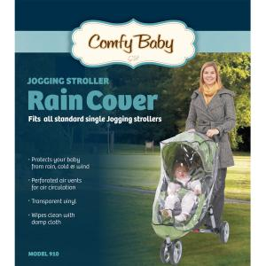 Image of Babyroues Comfy Baby Universal Single Jogging Stroller Raincover