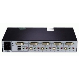 Image of 1U 4 SYSTEMS USB DVI-I DUAL LINK AUDIO CAC EAL2+