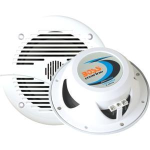 """BOSS AUDIO MR60W Marine 6.5"""" 2-way 200-watt Full Range Speakers - Sold in Pairs"""