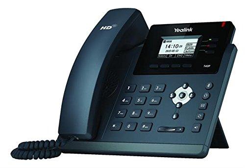 Yealink SIP-T40P 3-Line IP Phone - Microsoft