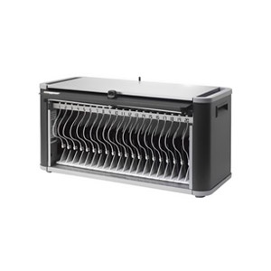 Bretford PowerSync+ Station HE406 20-Unit Tablet Computer Cabinet