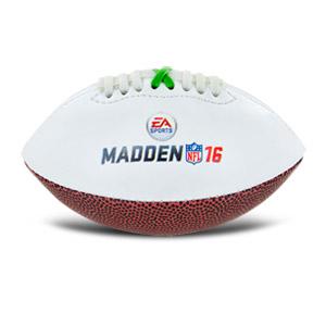 """Xbox Madden NFL 16 Mini Football, 6.25"""""""