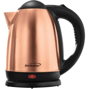 Click here for Brentwood 1.7 Liter Rose Gold Electric Stainless S... prices