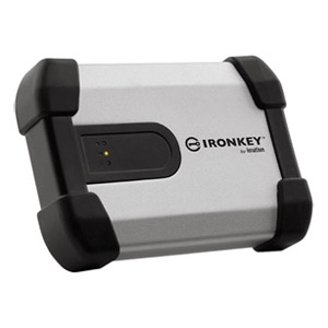 "IronKey Enterprise H350 2TB 2.5"" USB 3.0 External Encrypted Hard Drive, Open Box"