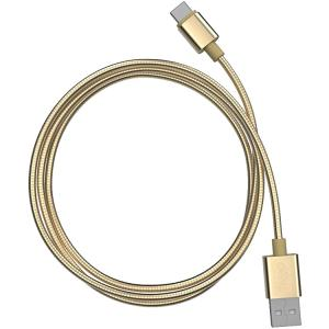 MOTA TAMO 3ft Forever Cable: Steel Edition MFI USB-C Cable - Gold