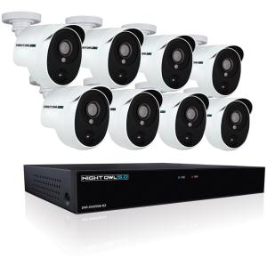Night Owl XHD502-88P 8Ch Extreme HD Video Security DVR w/ 2TB HDD & 8 Cameras