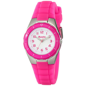 Roots Women's Saturna Analog Sports Watch, Pink