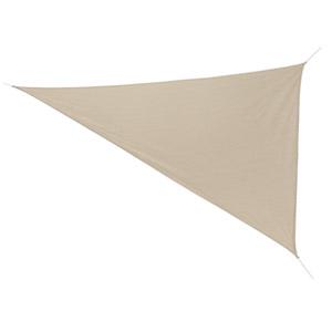 Coolaroo Ready-to-Hang Triangle Shade Sail Canopy, Smoke (11.8')