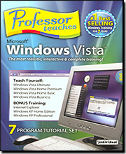 Professor Teaches Microsoft Windows Vista