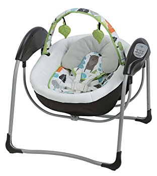 Click here for Graco Glider Lite LX Gliding Baby Swing - Bear Tra... prices