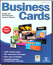 Image of ProVenture Business Cards v4 for Windows PC