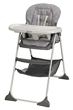 Click here for Graco Slim Snacker Highchair - Whisk prices