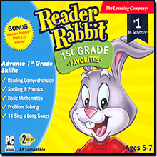 Reader Rabbit 1st Grade Favorites with Reader Rabbit Math