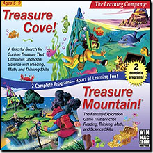 Treasure Cove and Treasure Mountain