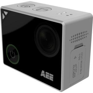"AEE LYFE Silver 4K Digital Camcorder 1.8"" Touchscreen LCD"