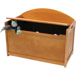 Click here for Lipper Childs Toy Chest - Pecan Finish prices