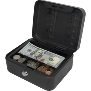 Royal COMPACT STEEL CASH BOX 1BILL &