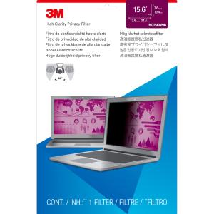 3M HC156W9B High Clarity Privacy Filter for 15.6