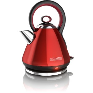 Click here for Black & Decker Electric Kettle Stainless Steel Red prices