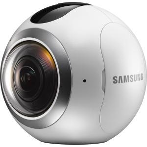 Samsung SM-C200NZWAXAR Gear 360 Real 360 High Resolution VR Camera